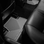 Ковры салона Lexus IS 2005-14 , задние, серые - Weathertech