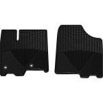 Ковры салона Toyota Sienna 2013-, черные, передние - Weathertech