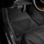 Ковры салона Mercedes-Benz S W222 2013- черные, передние - Weathertech