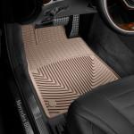 Ковры салона Mercedes-Benz S W222 2013- бежевые, передние - Weathertech