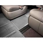 Ковры салона Toyota Sienna 2010-, перемычка, серая - Weathertech