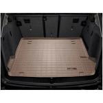 Коврик багажника WeatherTech BMW X3 (E25) 2011-, Бежевый - резиновые