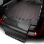 Ковер багажника Lexus LX 570, какао, с накидкой 7мест - Weathertech