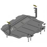 Защита Seat Altea Freetrack 2007- V-1,4; 2,0 TFSI МКПП двигатель и КПП - Кольчуга