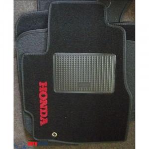 Коврики текстильные HONDA CRV автомат с 1996-2001 черные в салон