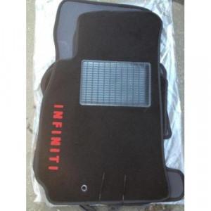 Коврики текстильные INFINITY FX35/FX45 с 2003-2008 черные в салон