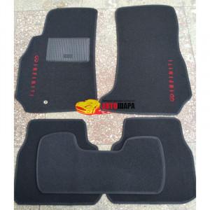 Коврики текстильные INFINITY FX35/FX45 2008-2013 черные в салон