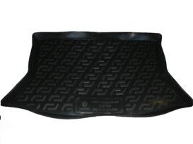 Коврик в багажник ВАЗ 1119 хетчбек - (пластиковый) Лада Локер