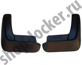 Брызговики Mazda 3 седан (13-) задние комплект - Lada Locker