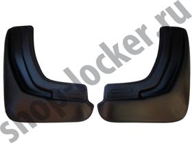 Брызговики Mazda 6 седан (12-) задние комплект - Lada Locker