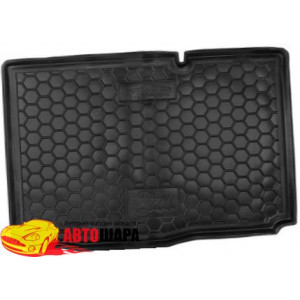 Ковер в багажник FORD B- max (2013>) нижняя полка твердый - AvtoGumm