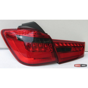 Mitsubishi ASX альтернативная задняя LED светодиодная оптика красная 2009+ - JunYan