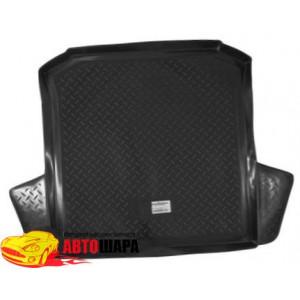 Коврик в багажник Seat Cardoba седан (06-) твердый Norplast