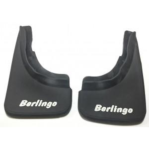 Брызговики Citroen Berlingo 2009- (задние кт 2-шт), кт. - TUR