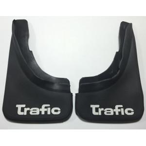Брызговики Renault Trafic (пер=зад) , полиуретан - мягкие комплект 2шт - AVTM