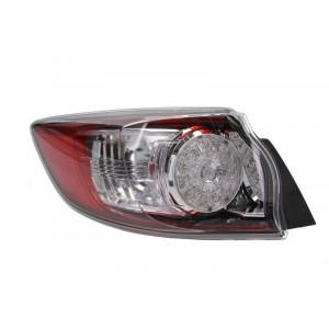 Отражатель задн. бампера Mazda 3 Hb 2009-2013 левый внешний LED - DEPO