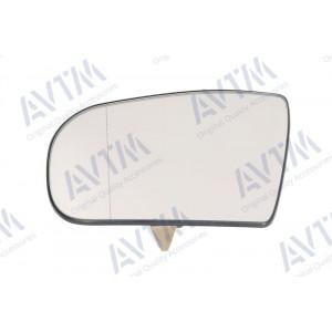 Вкладыш зерк бок MERCEDES S (W220) 98-02 правый, асферич, с подогр, - AVTM