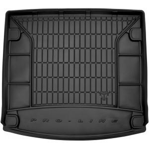 Резиновый коврик в багажникFrogum для Volkswagen Touareg (mkIII) 2018→ (с органайзером)(без рейлингом в багажнике)(без боковых ниш)