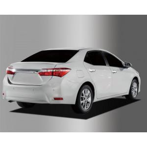 Toyota Corolla 2014- Накладки на ручки - Clover