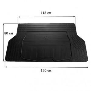 Ковер багажника UNI BOOT S (140см Х 80см) - Stingray
