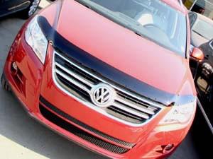 Дефлектор капота Volkswagen TIGUAN 2008- - SIM