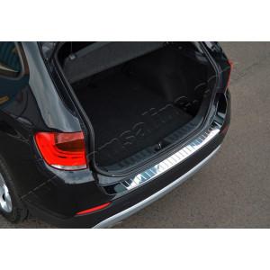 BMW X3 (F25) (2010-) Накладка на задний бампер - Матированный - OMSALINE