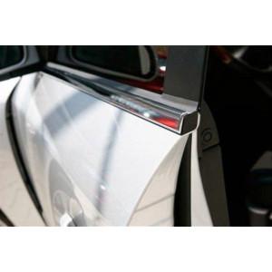 Mitsubishi Outlander 2001-2008 Молдинги стекол нижние 6шт - Carmos