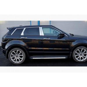 Range Rover Evoque 2012- Накладки дверных стоек 4шт - Carmos