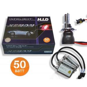 Биксенон. Установочный комплект Infolight/Infolight H4B 6000K 50W