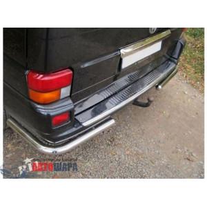 VW T4 1990-2003 Накладка на задний бампер - Carmos