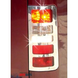 Ford Connect 2002-2012 Накладки на стопы V3, 2шт - Carmos