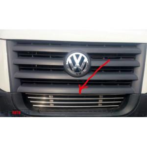 VW Crafter 2006- Решетка в бампер - Carmos