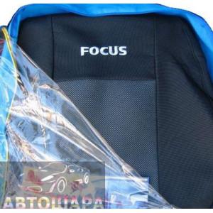 Чехлы на сиденья FORD Focus III с 2011г.2/3 спина и сиденье - Ав-Текс