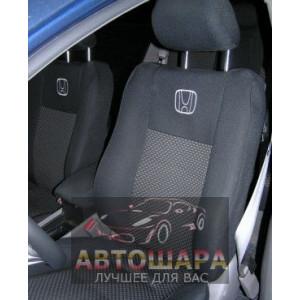 Чехлы сиденья HONDA CIVIC седан c 2006 го фирмы Элегант - модель Classic