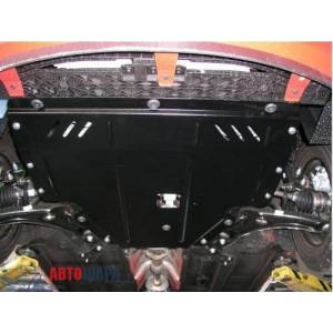 Защита Hyundai I-20 2008-2012 V- все двигатель, КПП, радиатор - Премиум ZiPoFlex - Kolchuga