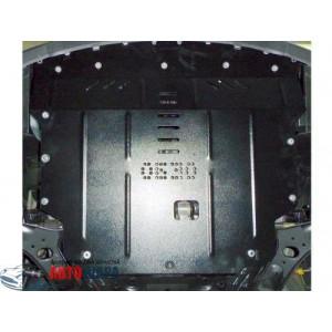 Защита Hyundai Accent V 2015-2016 V- все двигатель, КПП, радиатор - Премиум ZiPoFlex - Kolchuga