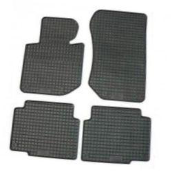 Резиновые коврики FORD KUGA 2011 черные 4 шт - Petex