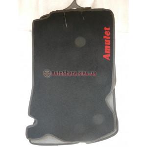 Коврики текстильные CHERY AMULET 2005-2012 черные