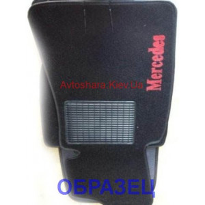 Коврики текстильные MERCEDES E [212] с 2009 черные в салон