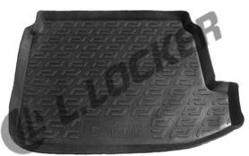 Коврик в багажник Chery M11 хетчбек (08-) (пластиковый) - Lada Locker