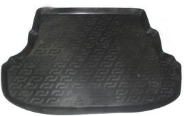 Коврик в багажник Hyundai Solaris седан Base/Classic (10-) твердый L.Locker