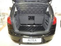 Коврик в багажник Seat Altea Freetrack (07-) полиуретан (резиновые) L.Locker