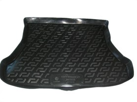 Коврик в багажник ВАЗ 1117 универсал (пластиковый) L.Locker