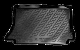 Коврик в багажник Zaz Sens хетчбек (02-) полиуретан (резиновые) L.Locker