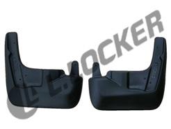 Брызговики Subaru Outback задние комплект Lada Locker