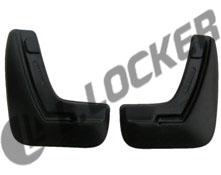 Брызговики Opel Astra H седан (07-) задние комплект Lada Locker