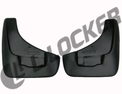 Брызговики SsangYong Rexton III (12-) передние комплект Lada Locker