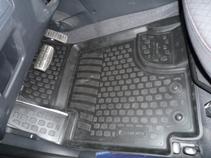 Коврики в салон Kia Cerato (09-) полиуретан (резиновые) комплект Lada Locker