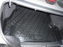 Коврик в багажник Daewoo Nexia (86-) (пластиковый) Lada Locker