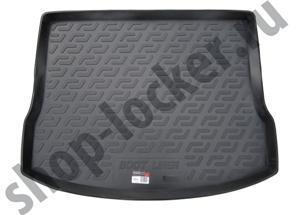Коврик в багажник Mazda 3 хетчбек (13-) ТЭП - мягкие - Lada Locker